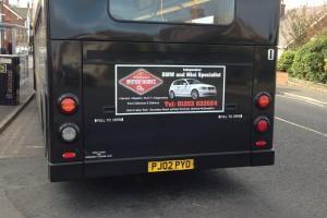 Wheel Powder Coating Motor Works Advert